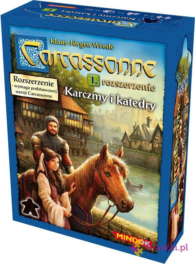 Carcassonne: Karczmy i Katedry cz.1 (druga edycja polska)